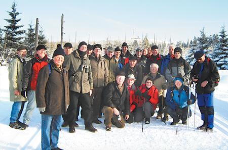 Wanderer waren auf Brocken 02.02.09