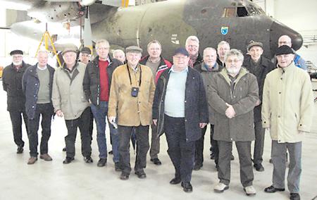 Landesberger Männerkreis besuchte Fliegerhorst Wunstorf 05.03.09