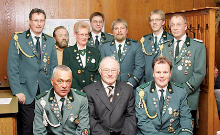 Friedrich Meyer 50 Jahre Schütze 14.01.09