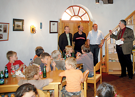 Eric Knipping Kinderbürgermeister 16.08.08