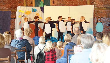 """""""Pinguintheater"""" in der Scheune 16.09.08"""