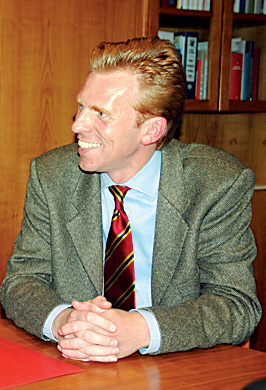 Eric Oehlmann, der Leiter der Regierungsvertretung.