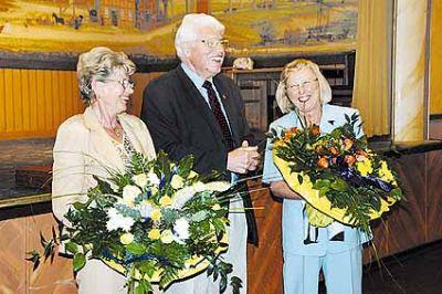 Bürgermeister Heineking verabschiedet sich