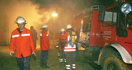 """Gebäudebrand"" in Groß Varlingen 18.09.08"