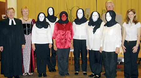 """Tosender Applaus für """"Masken"""" 19.08.08"""