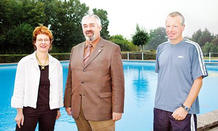 Britta Ronnenberg, Walter Busse und Jürgen Homeyer