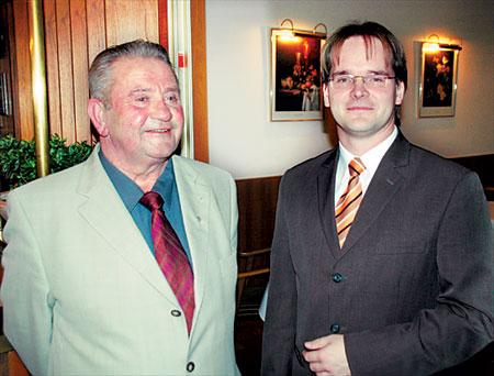 Der alte und der neue Bürgermeister