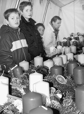 """Zur Adventsvorbereitung """"in letzter Minute"""" ist auch etwas dabei.Archivfoto: Heckmann"""