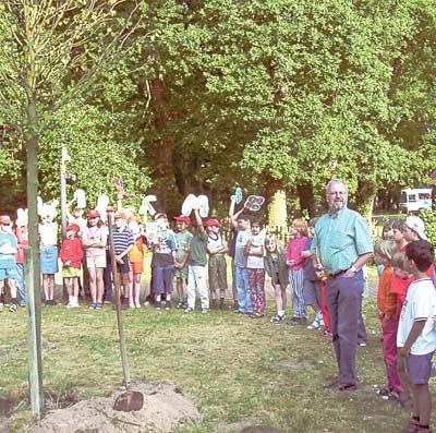 Grundschüler aus Belarus besuchen die Estorfer Grundschule. Foto: privat