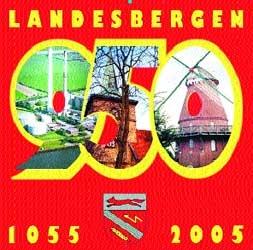 Wird Landesbergen das Jahr über begleiten: das Logo der 950-Jahr-Feier.