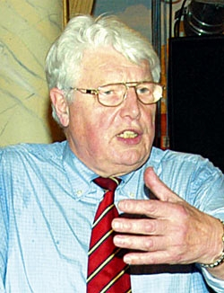 Landesbergens Bürgermeister Willi Heineking legte sein Amt als Vorsitzender des Heimatvereins nieder.Foto: Archiv