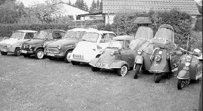 Oldtimerparade: Kleinwagen und Roller aus den fünfziger Jahren lassen vom 24. bis 26. Juni die Herzen der Oldtimerfans in Hoya, Landesbergen und im Landkreis entlang der Rundtouren höher schlagen.