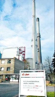 Das Biomasseheizkraftwerk in Landesbergen liefert Strom aus Altholz. Foto: Hildebrandt