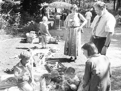 Für Abwechslung sorgte das Sommerfest der Kirchengemeinde Husum. Foto: Achtermann