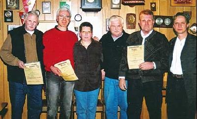 Zufriedene Gesichter bei der Jahreshauptversammlung des SV Schessinghausen-Kahle