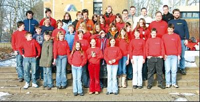 Die Mitglieder der Johanniter-Jugend und Schnell-Einsatz-Gruppe (SEG) bilden sich in der Verdener Jugendherberge fort.