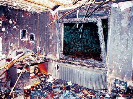 Brand im Kinderzimmer