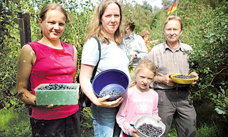 Bickbeernhof Besucher