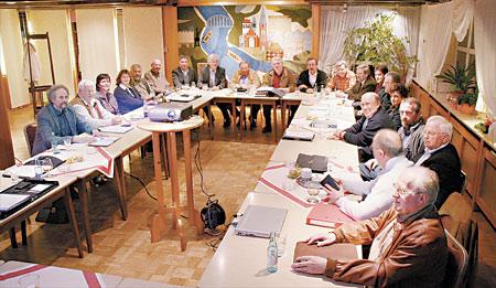 Sitzung der CDU/WG