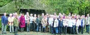 DRK Landesbergen besuchte Edeka-Lager in Wiefelstede 10.10.08
