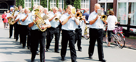 Mitglieder des Feuerwehrmusikzugs Estorf-Leeseringen