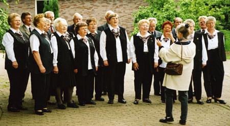 Letzte Auftritte mit Chorleiterin Gerda Harste