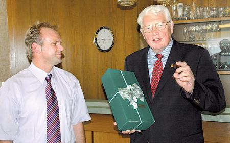 Auszeichnung als Ehrenbürgermeister