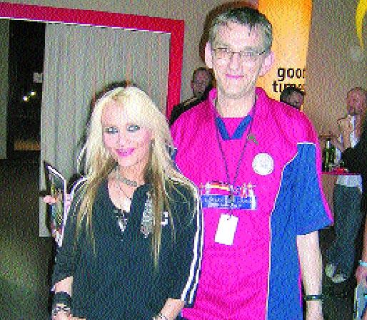 Doro Pesch, die erfolgreichste deutsche Hardrock-Sängerin und Andreas Voigts.