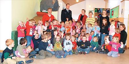 Jubel im Husumer Kindergarten