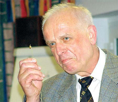 Abschied von Karl-Heinz Strohmann mit Ehrennadel