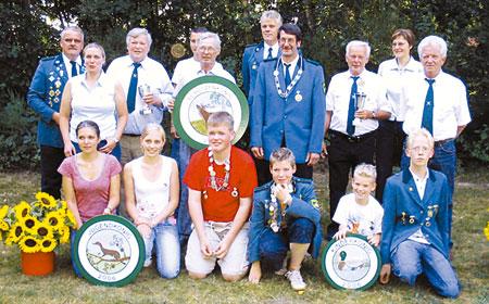 Claus Vahlsing regiert die Heidhäuser Schützen
