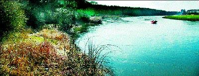 Anbindung an die Weser