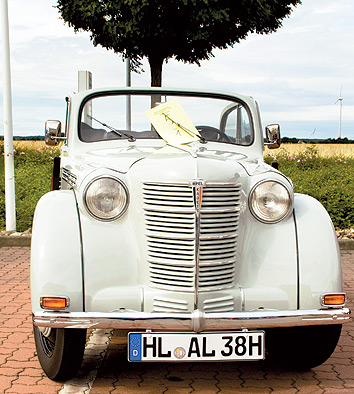 Unscheinbare Rarität: ein Opel Kadett aus den 30er Jahren.